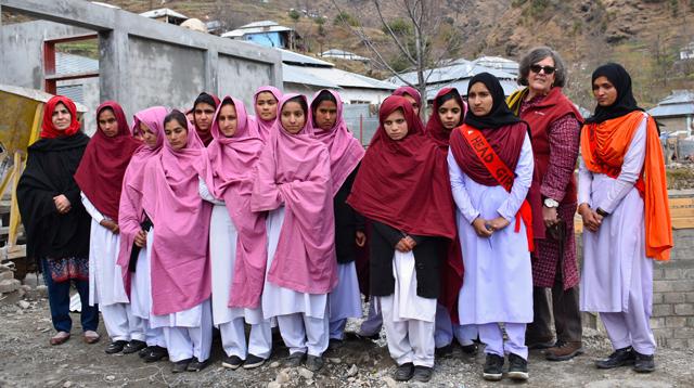 First Year Students at Jabergali